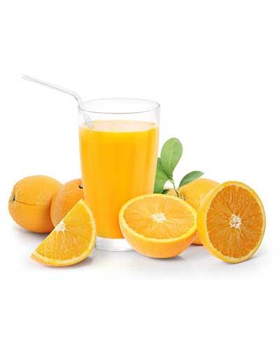 Orange juice and glycerine