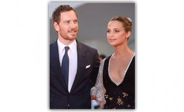 Alicia Vikander and Michael Fassbender married
