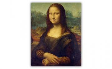 Leonardo da Vinci's Mona Lisa was no easy feat