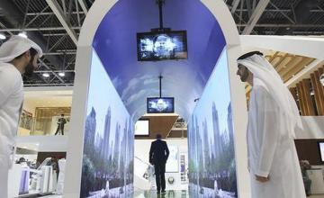 Virtual aquariums at Dubai airport to work as face scanners