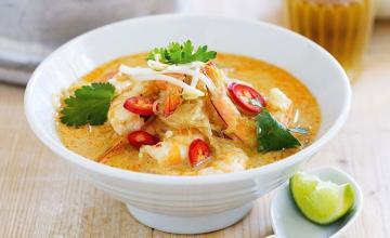 Coconut-Prawn Soup