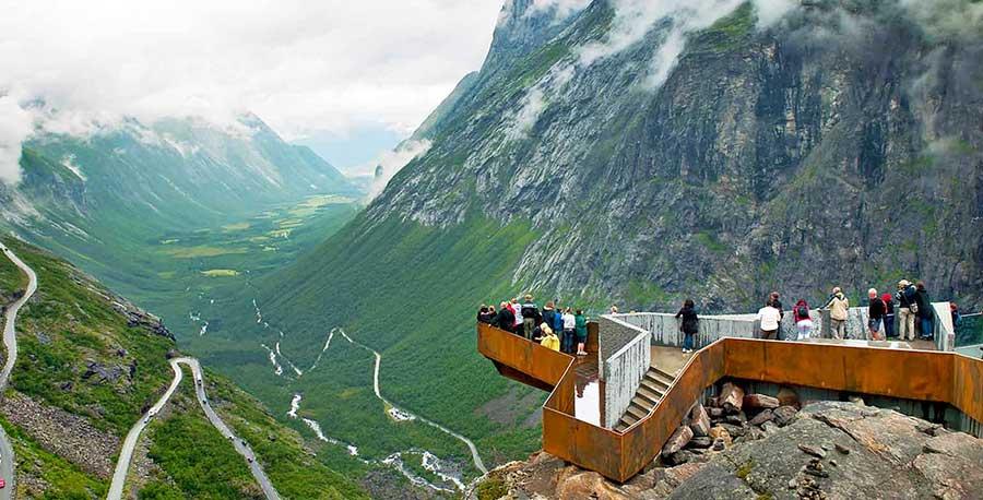 Trollstigen Norway Panorama Mag The Weekly