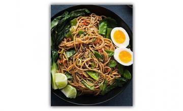 Oriental Chilli Garlic Noodles