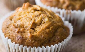 Pumpkin-Ginger Nut Muffins