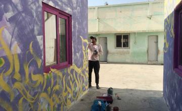 The 'SANKI KING' of Karachi's Graffiti Art
