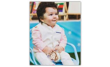 The cutest Chota Nawab