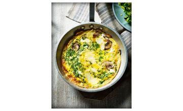 Potato & Mushroom Omelette