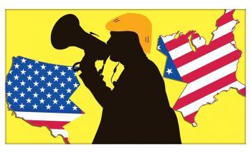 AMERICAN CRAP AND TRUMP'S ANTICS