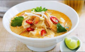 Coconut & Prawn Soup