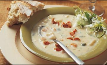 Cheddar & Potato Soup