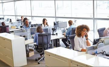 Open plan offices leave employees distracted and unhappy