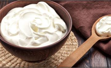 Cream-classic dessert element