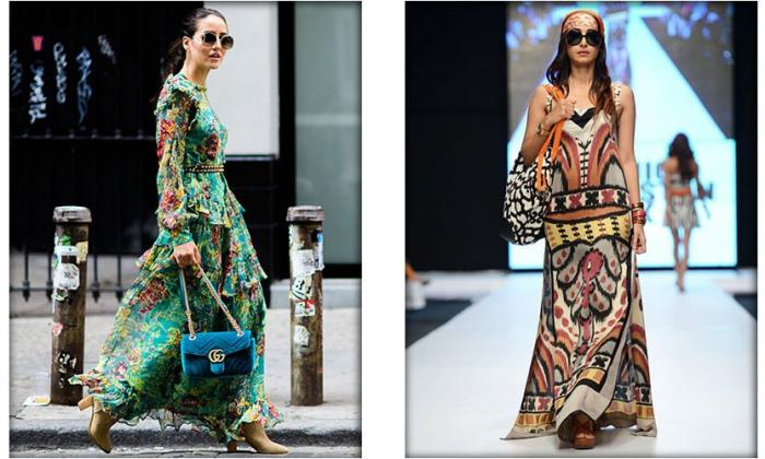 Take the city in stride with Boho Chic