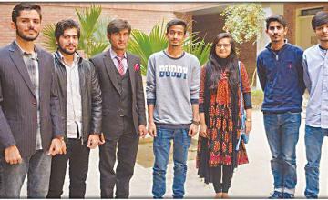 Students of IBA Sukkur