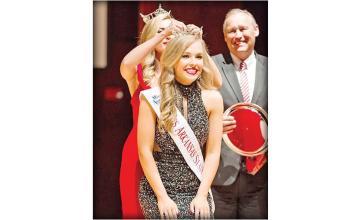 Arkansas State University crowns its beauty pageant winner