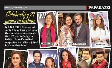 Celebrating 27 years in fashion