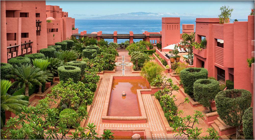 Tenerife island's Ritz Carlton, Abama, resort