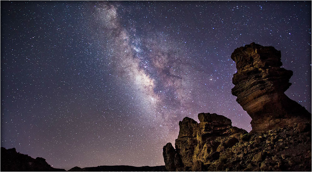 Stargazing atop Mount Teide