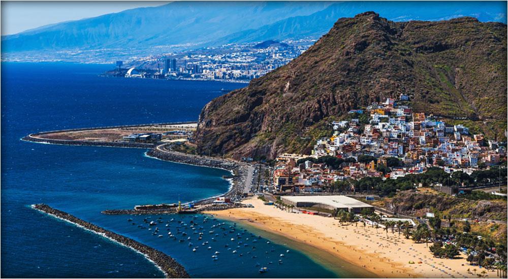 Tenerife's coastal town San Andres