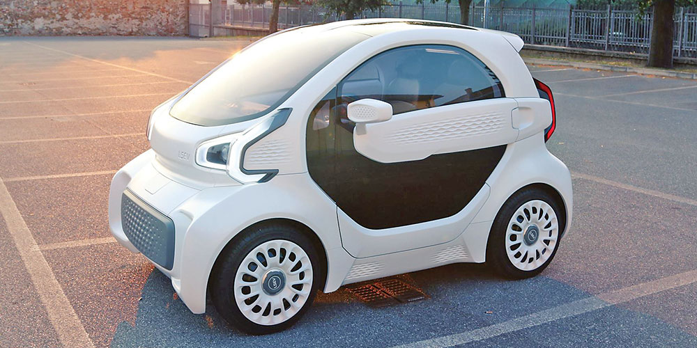 While Many Electric Cars Come With Fairly Hefty Price Tags A New Vehicle Costs Just 7 500 And Is Printed The Lsev Takes Three Days To
