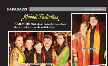 Mehndi Festivities