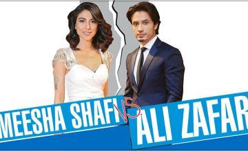MEESHA SHAFI VS. ALI ZAFAR