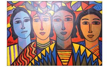 WAHAB JAFFER - At The ArtCiti Gallery
