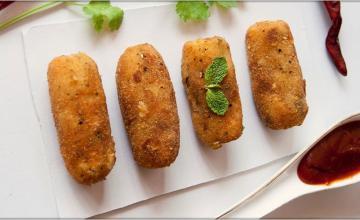 Mince & Potato Croquettes