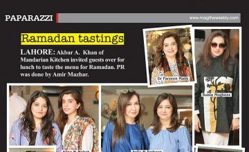 Ramadan tastings