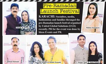 Pre-Ramadan Launch Festival