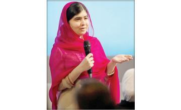 Malala happy as G7 leaders pledge $3bn for girls education