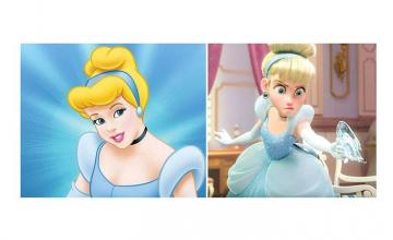 People have noticed something alarming about Cinderella's appearance – but it actually makes sense