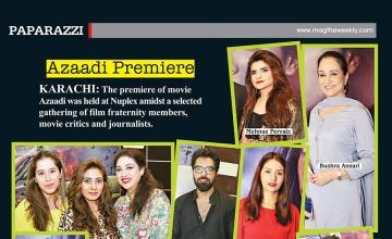 Azaadi Premiere