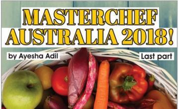 MASTERCHEF AUSTRALIA 2018!