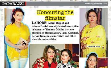 Honouring the filmstar