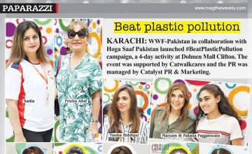 Beat plastic pollution