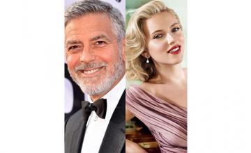 Clooney, Johansson top the Forbes actors, actresses rich list