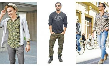 RAISE YOUR STYLE BAR WITH CAMOUFLAGE