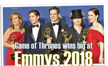 Game of Thrones win big at Emmys 2018