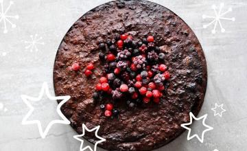 Wild Berry Chocolate Cake