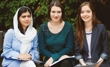 Malala on a roll!