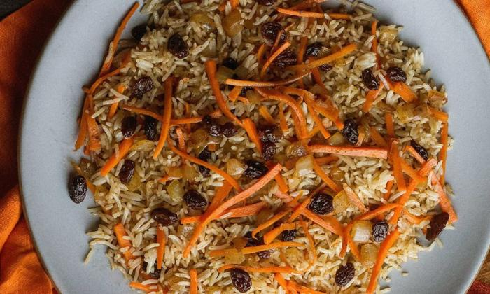 Afghan Rice (Kabuli Pulao)