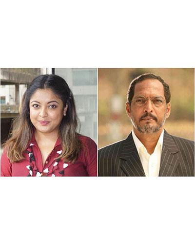 3. Tanushree's harassment allegations against Nana Patekar