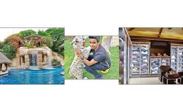 £780k sneaker collection and a private zoo