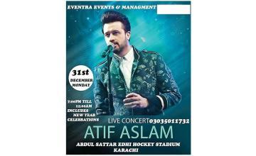 ATIF ASLAM LIVE CONCERT