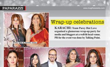 Wrap-up celebrations