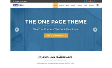 Why to Have A One-Page Website with WordPress