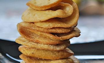 Baked Papdi (crackers)