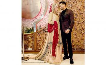 YouTubers Sham Idrees and Froggy get married