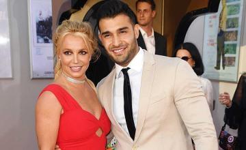 Britney Spears and Sam Asghari make red carpet debut